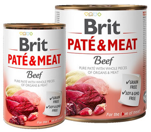 Brit Pate & Meat Dog Beef puszka 800g