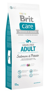 Brit Care Grain Free Adult Salmon & Potato 12kg