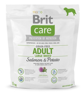 Brit Care Grain Free Adult Large Salmon & Potato 1kg