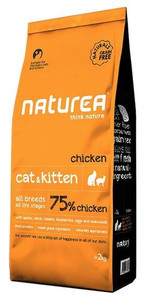 Naturea Cat & Kitten Kurczak 2kg