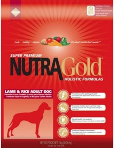 Nutra Gold Holistic Lamb & Rice Adult Dog 15kg