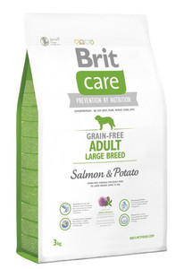 Brit Care Grain Free Adult Large Salmon & Potato 3kg